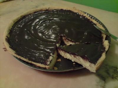 recette - tarte coco chocolat