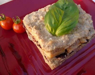 recette - tiramisu d'aubergines