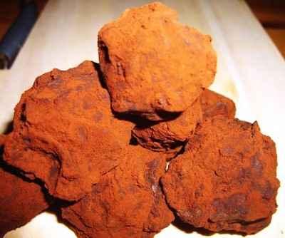 recette - truffe à la fleur de sel