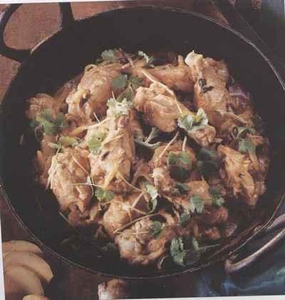 recette - ailes de  poulet au gingembre