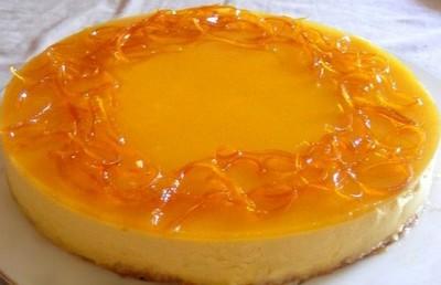 recette - bavarois mangue et écorces d'oranges