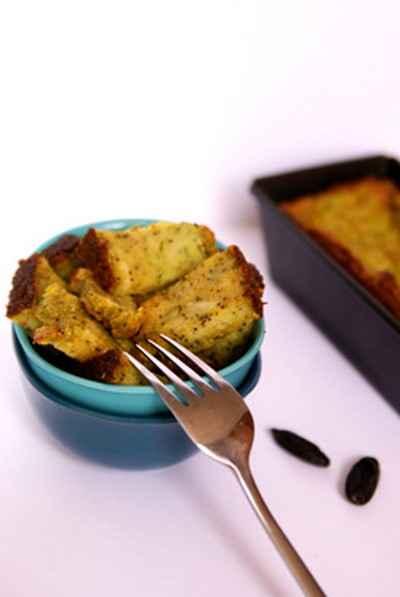 recette - cake fondant envoûtant au goût d'épices et fruits oléagineux