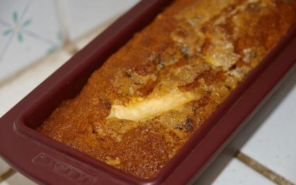 recette - cake moelleux pomme marron vanille