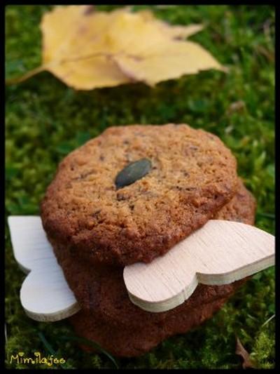 recette - cookies sur un air d'automne