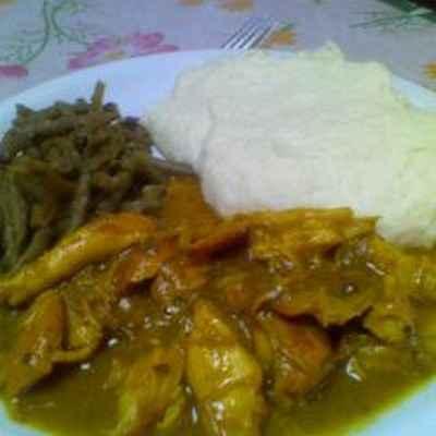 recette - cuisse de poulet au curry