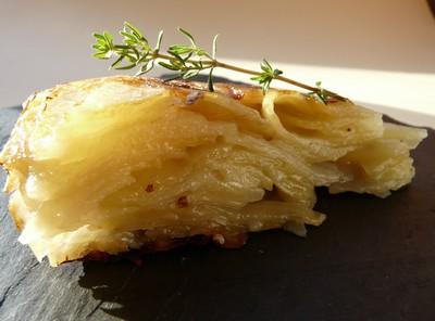 recette - gâteau fondant de pommes de terre