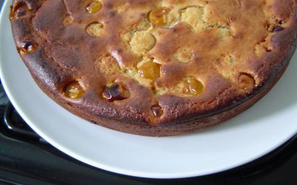 recette - gâteau lorrain aux mirabelles