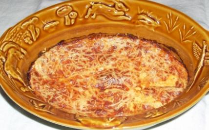 recette - gratin de potiron aux deux fromages