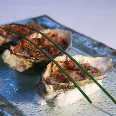 recette - huîtres arcachon cap ferret au beurre de radis roses