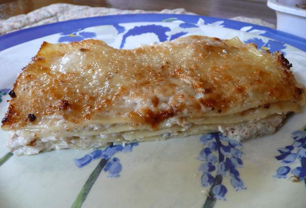 recette - lasagnes fromages et noix