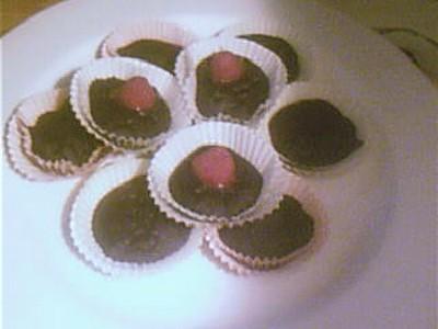 recette - muffins légers au chocolat