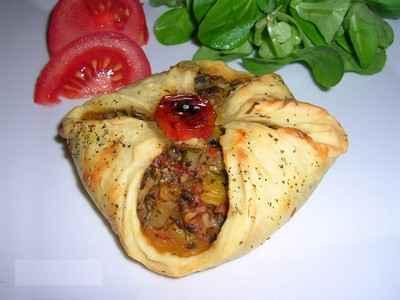 recette - paniers méditerranéens