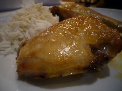 recette - poulet rhum, miel, citron