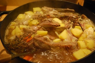 recette - ragoût d'agneau