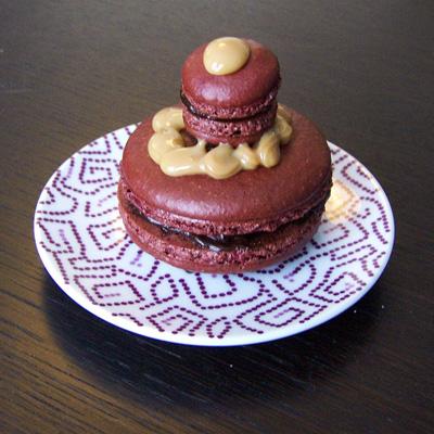 recette - religieuses de macarons aux chocolats