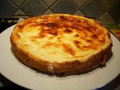 recette - tarte au fromage blanc aux fraises