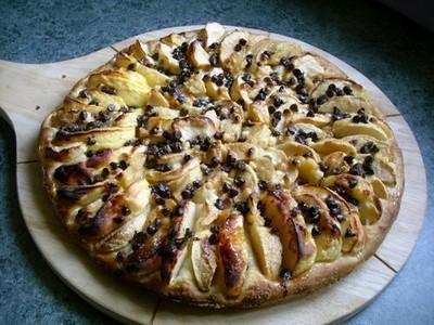 recette - tarte boulangère aux pommes