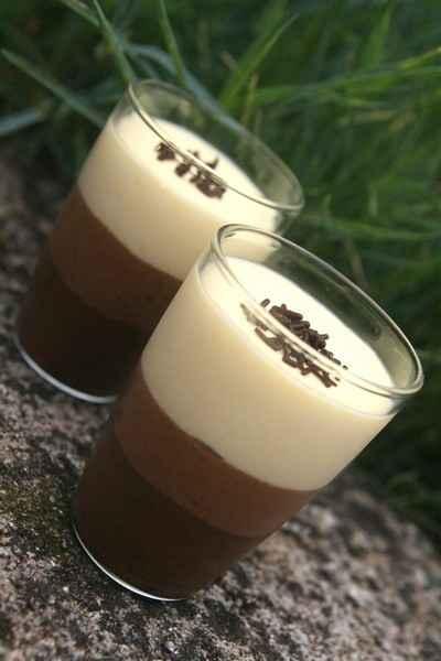 recette - verrines des trois mousses au chocolat