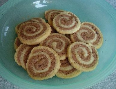 recette - biscuits escargots