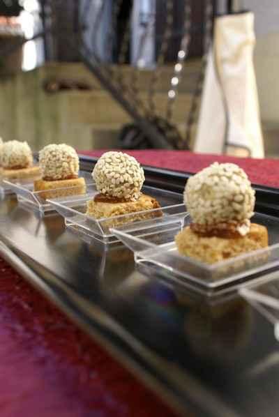 recette - bonbons de foie gras sur pain d'épices