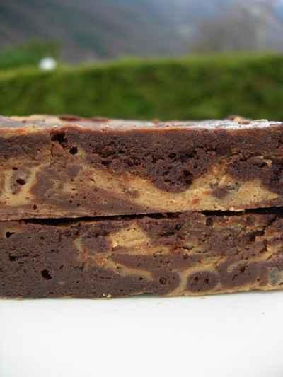 recette - brownie chocolat café