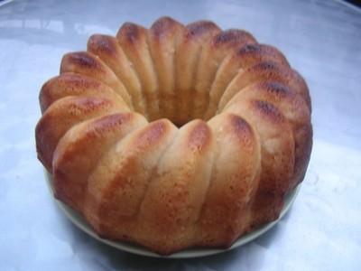 recette - cake au citron et au lait concentré sucré