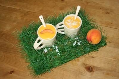 recette - crème d'abricots au beurre salé