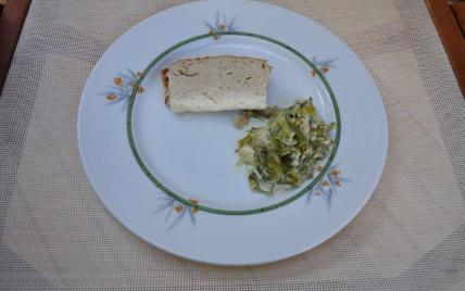recette - flan au thon avec son coulis de poireaux