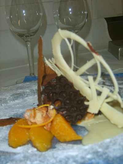 recette - fondant au chocolat noir de noir