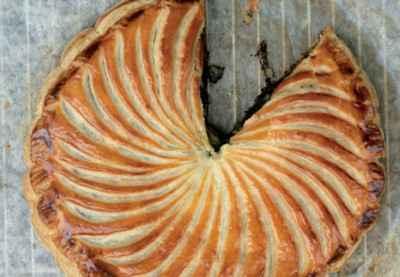 recette - galette aux pommes et au pavot