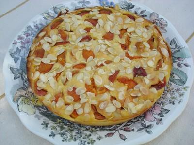 recette - gâteau abricots et amandes