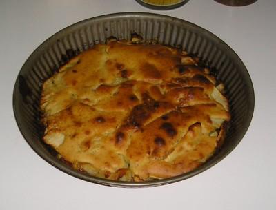 recette - gateau aux pommes (sans oeuf)