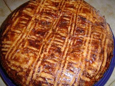 recette - gâteau basque sans gluten de mamie sosso