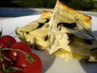 recette - gâteau de courgette au fromage blanc