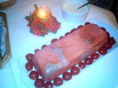 recette - mousse de saumon aux asperges