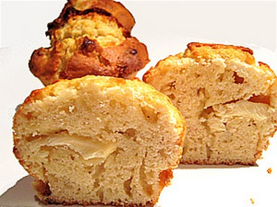 recette - muffin choco blanc tonka