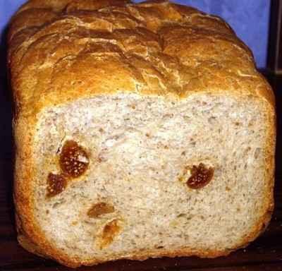 recette - pain aux figues (avec tous les restes de farine et un