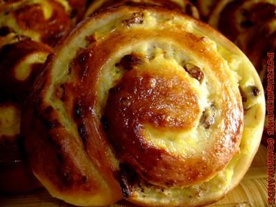 recette - pains aux raisins rhum et noisettes