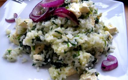recette - salade d'�pinard