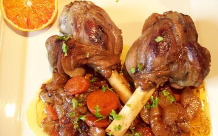 recette - souris d'agneau confite aux épices