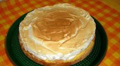 recette - tarte aux citrons meringuée