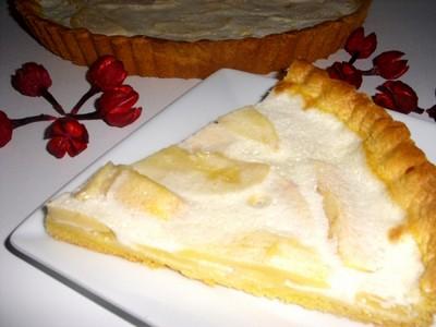 recette - tarte aux pommes et au yaourt