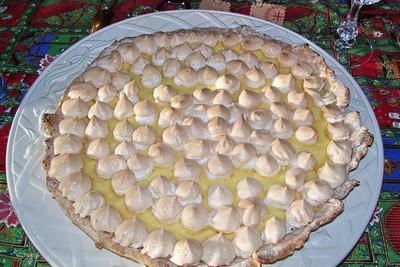 recette - tarte citron meringuée légère