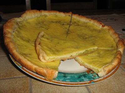 recette - tarte surprise aux poireaux