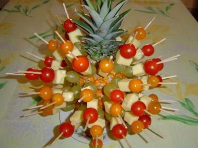 Recette ananas ap ro facile et rapide - Que faire pour un apero dinatoire ...