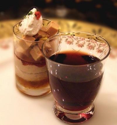 recette - bavarois de foie gras aux épices douces