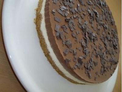 recette - bavarois vanille chocolat