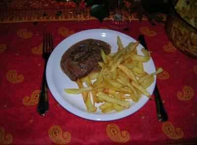recette - biche sauce chasseur