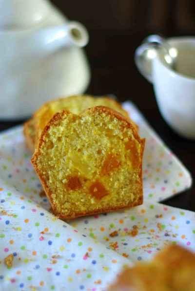 recette - cake ananas caramélisées