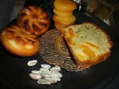 recette - cake aux abricots moelleux et aux pistaches